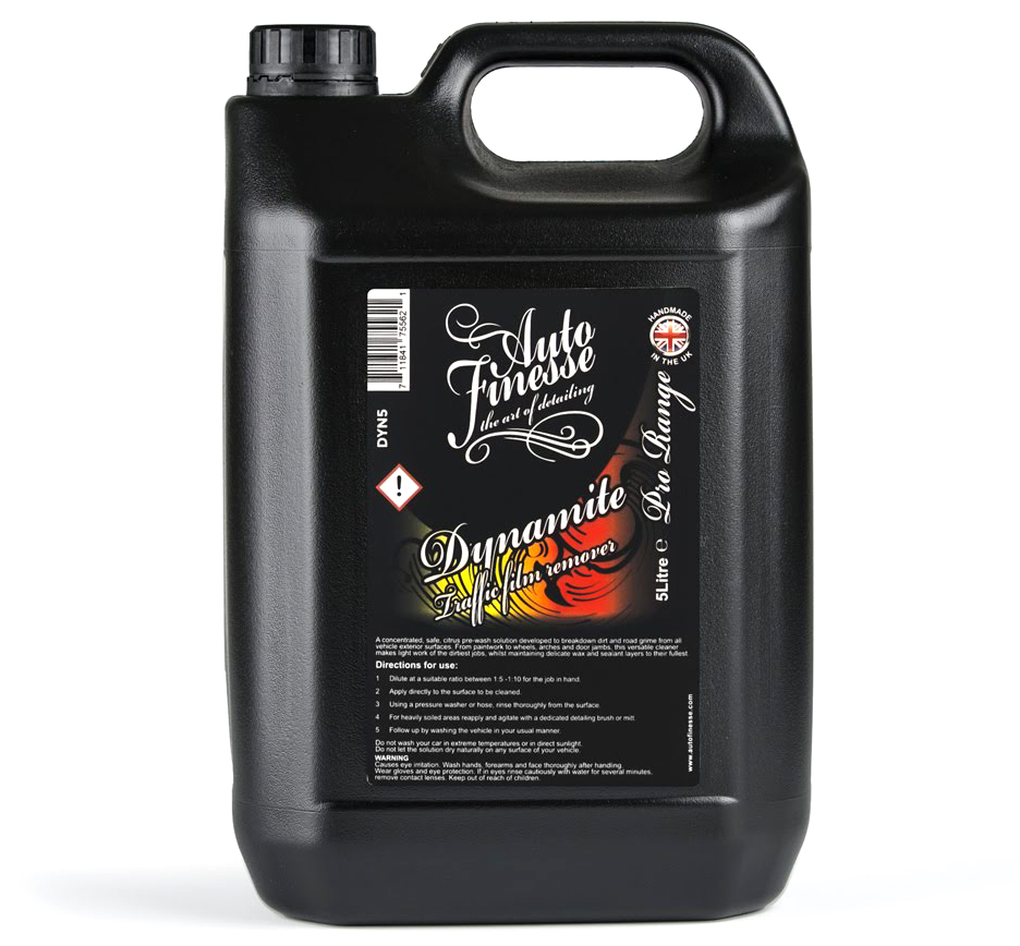 Auto Finesse Dynamite Traffic Film Remover 5000 ml koncentrované předmytí