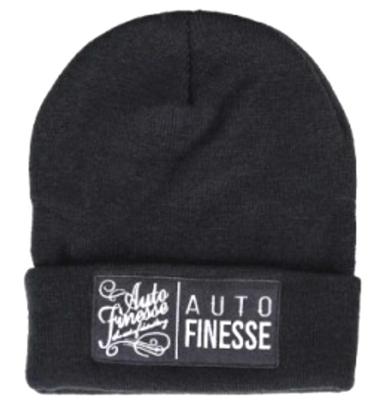 Auto Finesse The Double Stack Beanie Black White