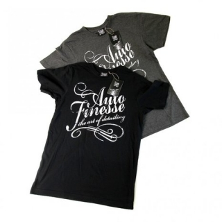 Auto Finesse Black T-Shirt the art of detailing tričko
