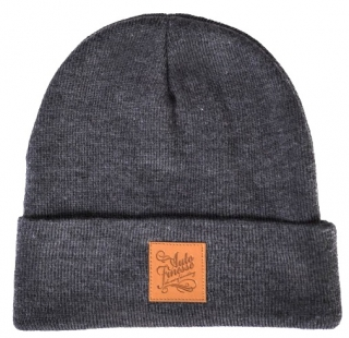 Auto Finesse Knitted Beanie - Dark