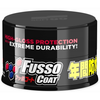 Soft99 New Fusso Coat 12 Months Wax Dark 200 g syntentický vosk