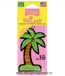 California Scents Hang Out Palms Shasta Strawberry - Jahoda
